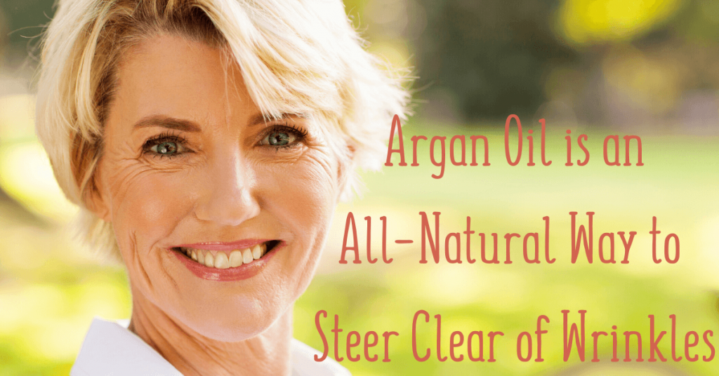 argan oil and wrinkles