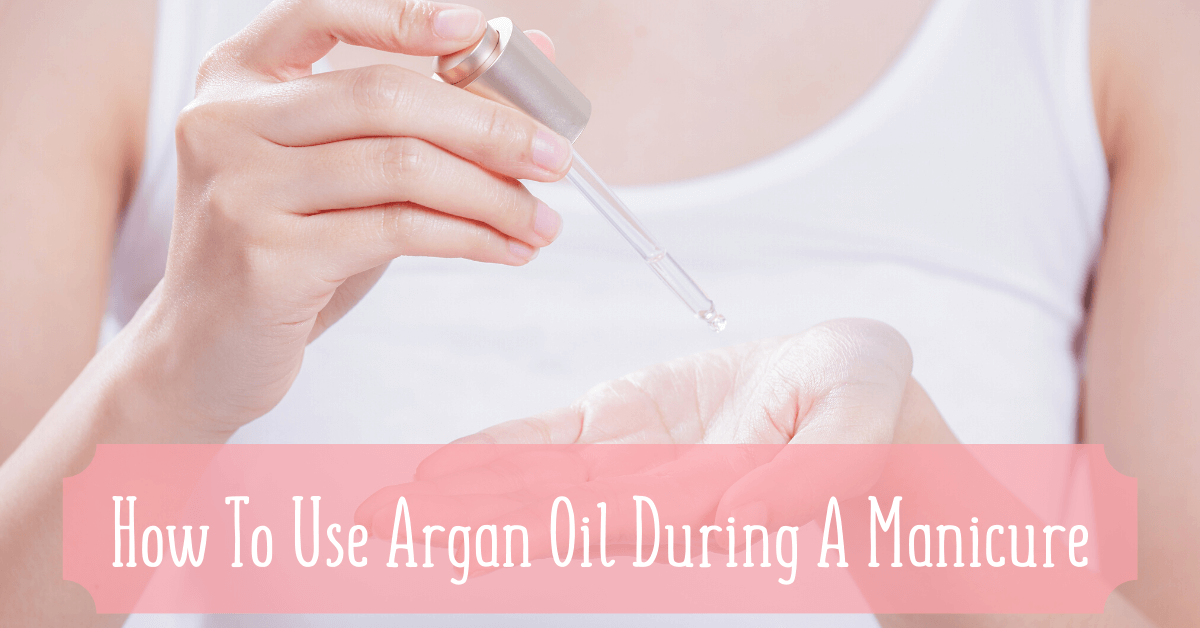 how to use argan oil on nails