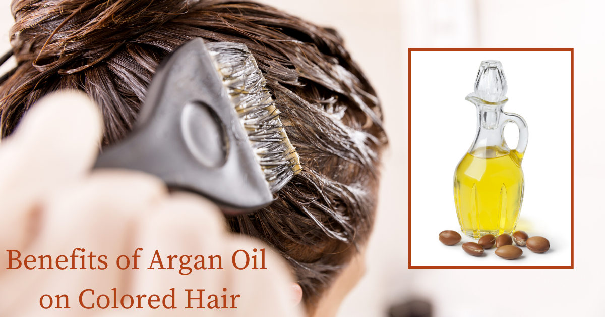 benefits of argan oil for hair color specialists