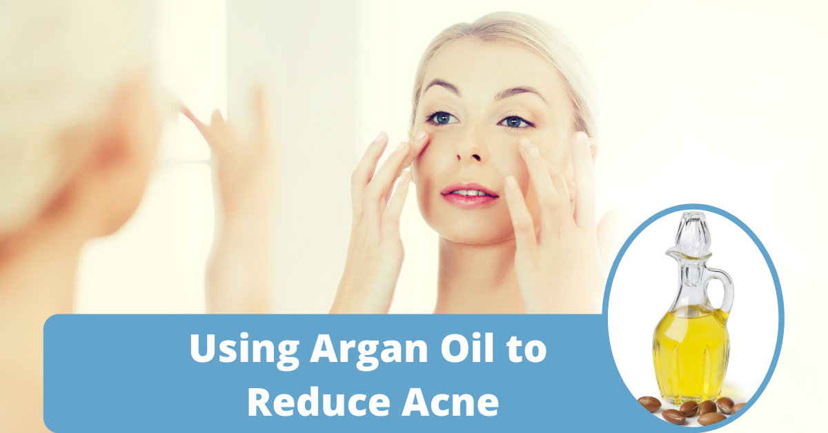 how to use argan oil for acne